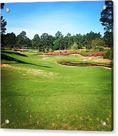 Living The Dream #pinehurst4 #4 Acrylic Print