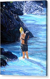 Living Waters Acrylic Print