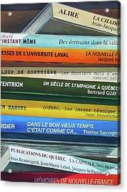 Livres ... Acrylic Print