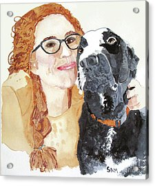 Livvy And Amos Acrylic Print