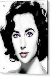 Liz Taylor Acrylic Print