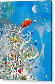 Liza's Reef Acrylic Print by Lee Pantas