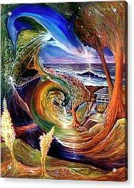Lizdaze Acrylic Print by Sevan Thometz