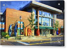 Ll Bean Store At The Promenade In Pa Acrylic Print by Heinz G Mielke