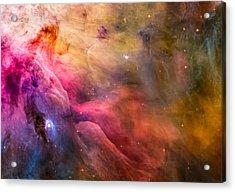 Ll Ori And The Orion Nebula Acrylic Print