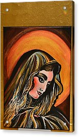 lLady of sorrows Acrylic Print