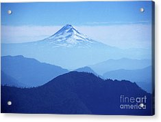 Llaima Volcano Chile Acrylic Print by James Brunker