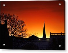 Llanelli Rooftops Acrylic Print