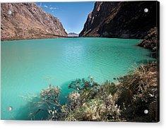 Llanganuco Lakes Acrylic Print