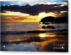 Llangennith Gower Coast Acrylic Print
