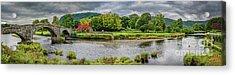 Llanrwst Bridge And Cottage Acrylic Print