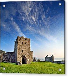 Llansteffan Castle 1 Acrylic Print