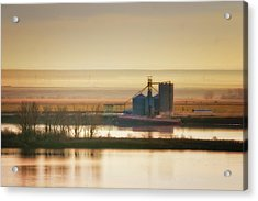 Acrylic Print featuring the photograph Loading Grain by Albert Seger