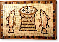 Loaves And Fishes Mosaic Acrylic Print