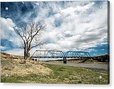 Lobato Bridge In Colorado Acrylic Print