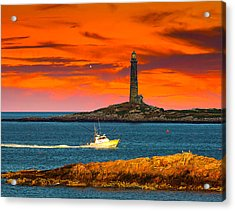 Lobster Boat Cape Cod Acrylic Print