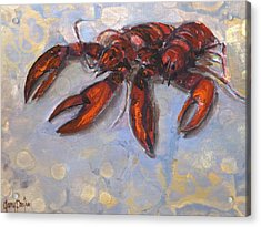 Lobster Find Acrylic Print