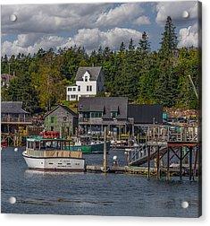 Lobster Fishing Boats Acrylic Print