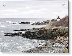 Lobster Point Lighthouse - Ogunquit Maine Acrylic Print