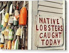 Lobster Shack. Acrylic Print by John Greim