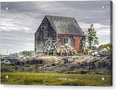 Lobsterman's Shack Of Mackerel Cove Acrylic Print