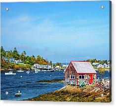 Lobstermen's Shack Acrylic Print