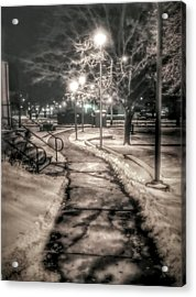 Local Library Acrylic Print by Dustin Soph