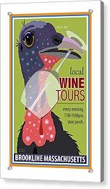 Local Wine Tours Acrylic Print
