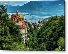 Locarno Overview Acrylic Print by Alan Toepfer
