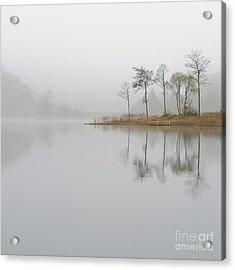 Loch Ard Misty Sunrise Acrylic Print