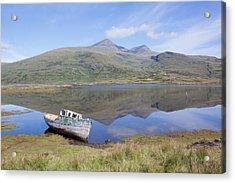 Loch Beg Reflections Acrylic Print