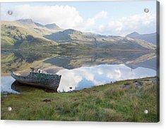 Loch Beg Reflects Acrylic Print