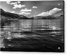 Loch Earn Scotland Acrylic Print by Fraser Davidson