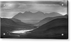 Loch Glascarnoch And An Teallach Acrylic Print