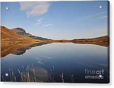 Loch Leatham Acrylic Print by Nichola Denny