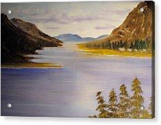 Loch Leven Acrylic Print