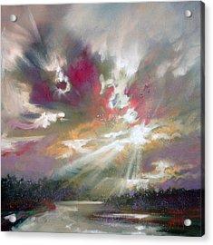 Loch Light Acrylic Print by Scott Naismith