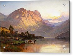 Loch Lomond And A Trout Stream Near Stirling Acrylic Print by Celestial Images