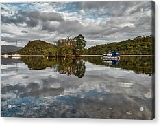 Loch Lomond At Aldochlay Acrylic Print by Jeremy Lavender Photography
