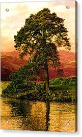 Loch Lomond Gloaming Acrylic Print by Rianna Stackhouse