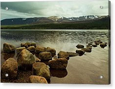 Loch Morlich And The Cairn Gorms Acrylic Print by Bill Buchan