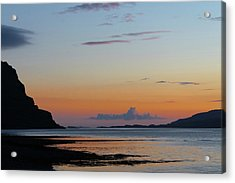 Loch Na Keal Sunset Acrylic Print