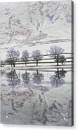 Loch Of The Lowes Acrylic Print by Tim Gainey