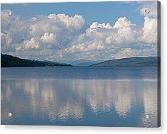Loch Rannoch Clouds Acrylic Print by Chris Thaxter