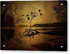 Ethereal Autumn Acrylic Print