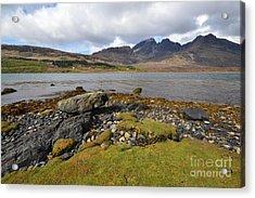 Loch Slapin Acrylic Print by Nichola Denny
