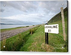 Lochaline This Way Acrylic Print