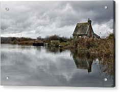 Lock Keepers Cottage At Topsham Acrylic Print