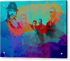 Lock Stock And Two Smoking Barrels Acrylic Print