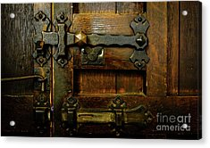 Locked And Bolted Acrylic Print
